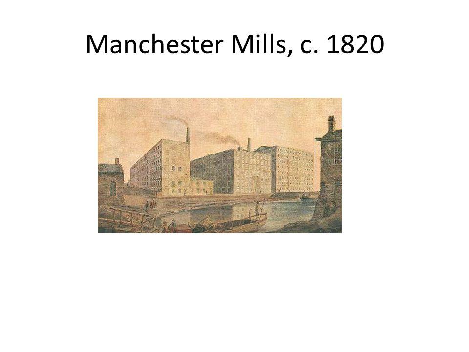 Manchester Mills, c. 1820