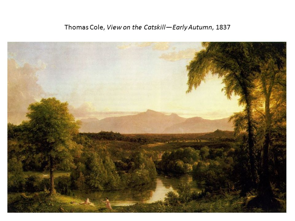 Thomas Cole, View on the Catskill—Early Autumn, 1837