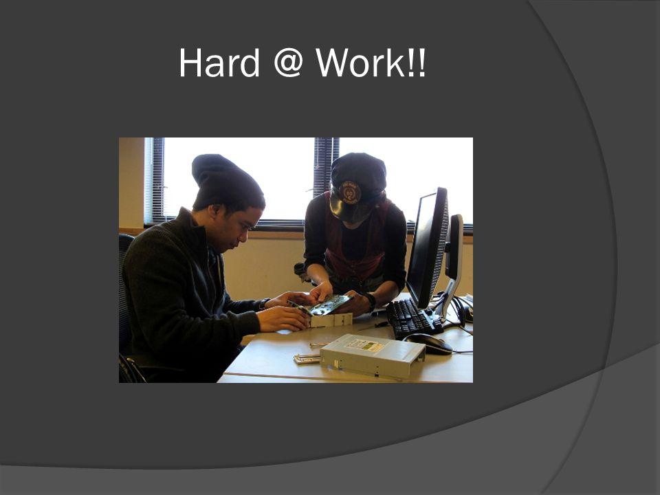 Hard @ Work!!