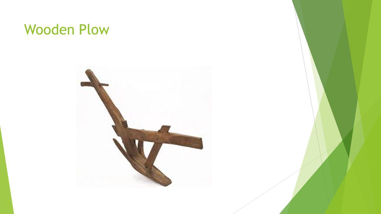 Wooden Plow