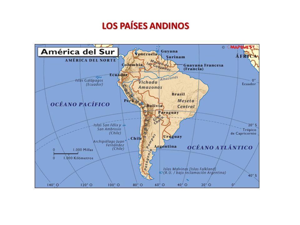 LOS PAÍSES ANDINOS