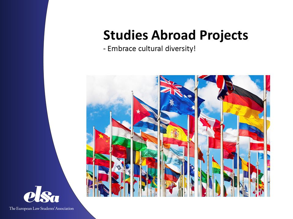 Studies Abroad Projects - Embrace cultural diversity!