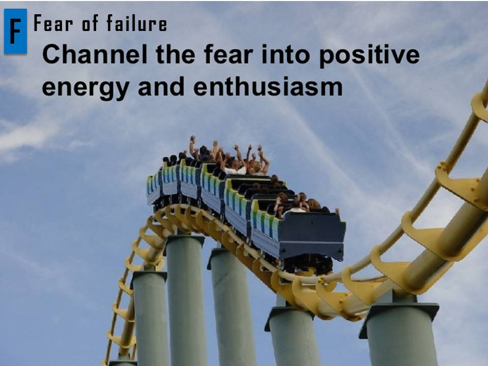 F F Fear of failure
