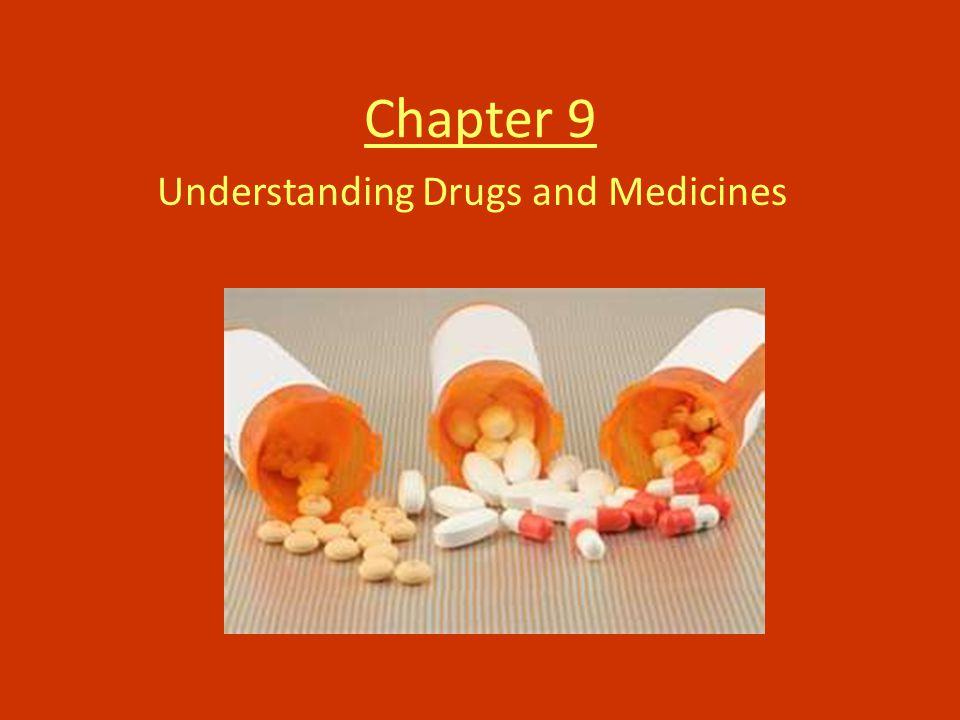 Chapter 9 Understanding Drugs and Medicines