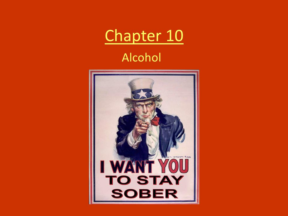 Chapter 10 Alcohol