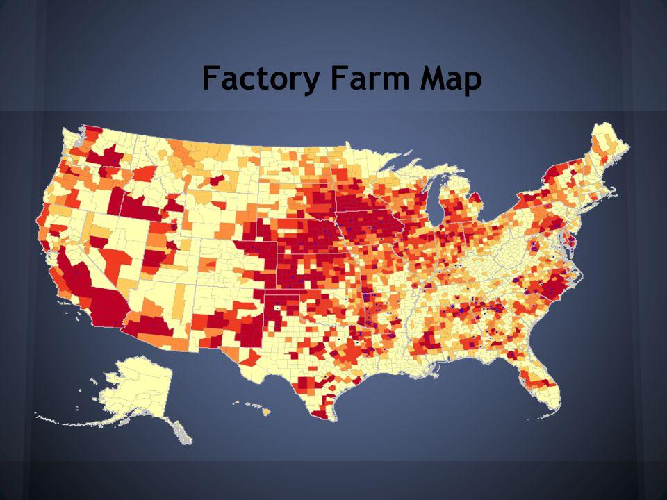 Factory Farm Map