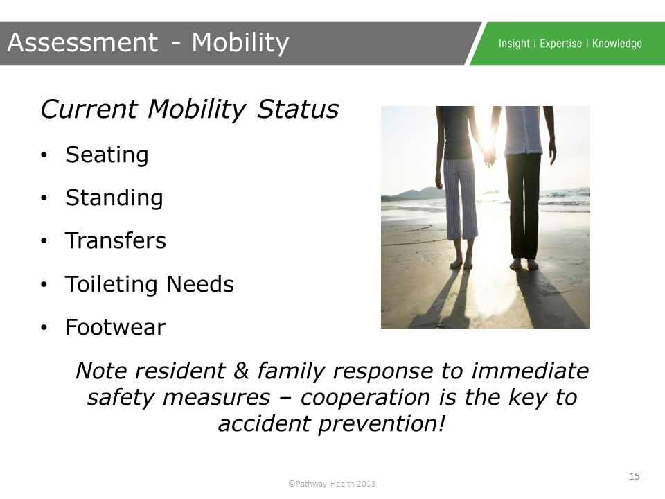 ©Pathway Health 2013 *Risk assessment tools by themselves do not prevent patient falls - they predict them… *National Patient Safety Foundation Profes