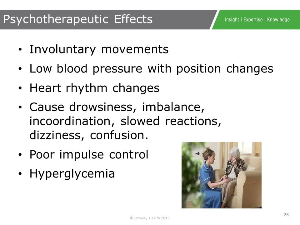 ©Pathway Health 2013 Hypertension Angina Parkinson's Disease Urine Output Constipation Heart Rate & Rhythm Pain These Conditions = Risk 27