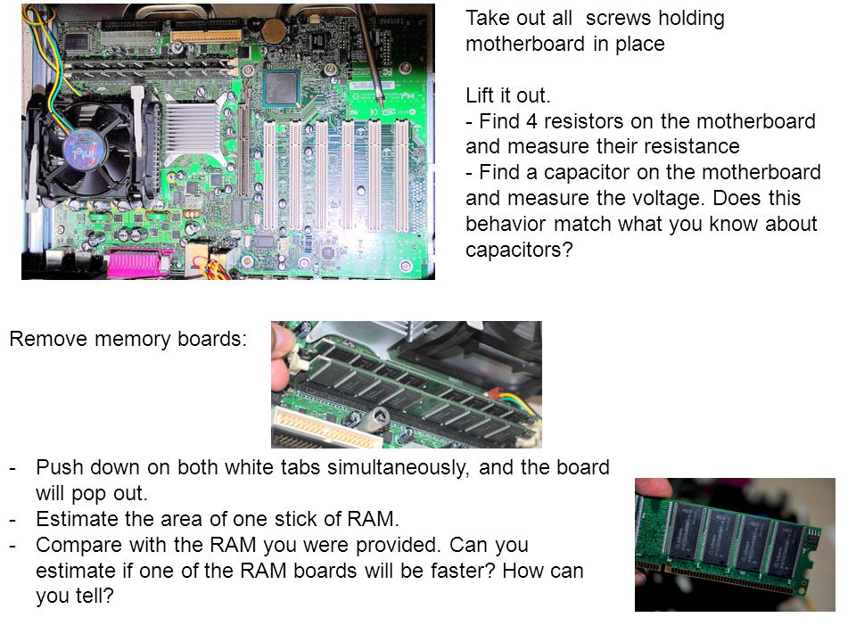 Lift out CPU chip.Take care not to bend of break any of the pins.