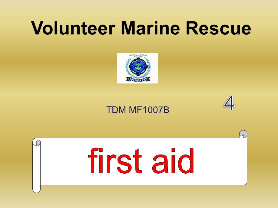 Volunteer Marine Rescue TDM MF1007B