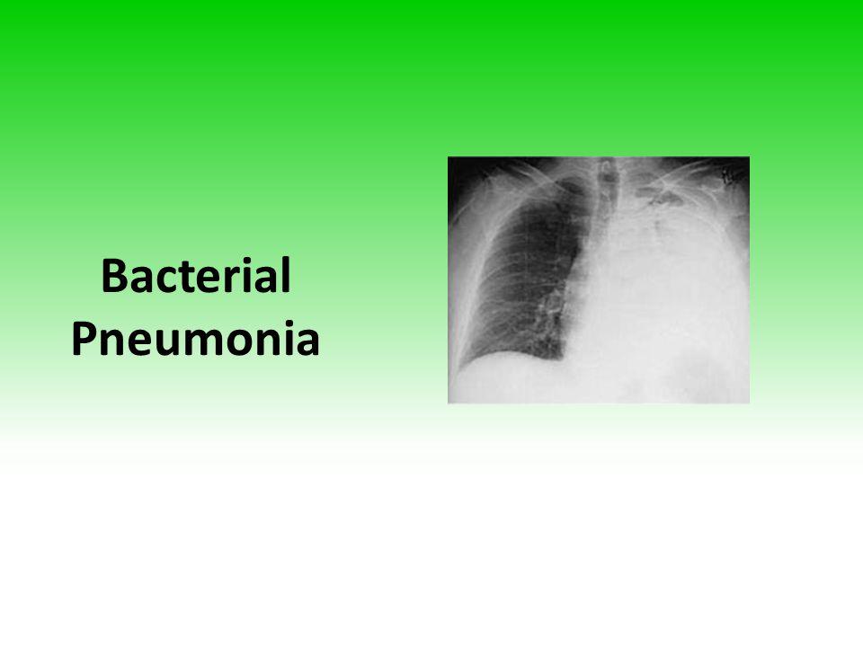 Bacterial Pneumonia