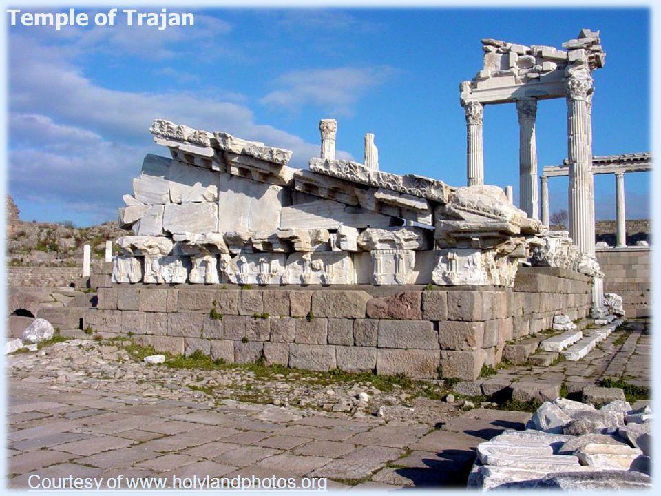 Pergamum's Paganism Courtesy www.bibleplaces.com