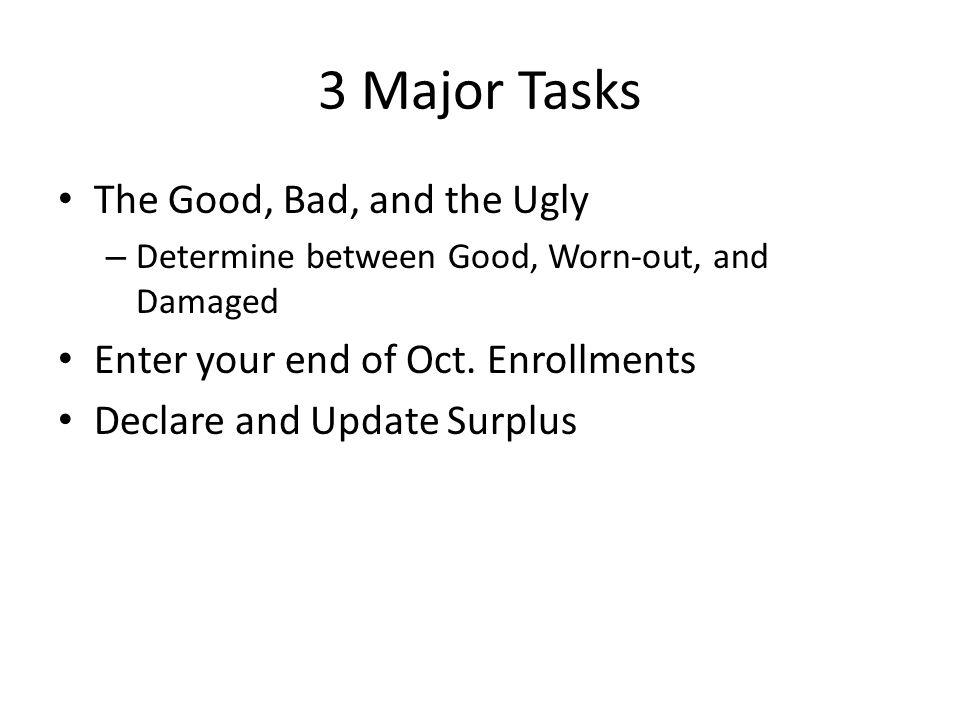 End of October Enrollments Click on EMAT Enrollment