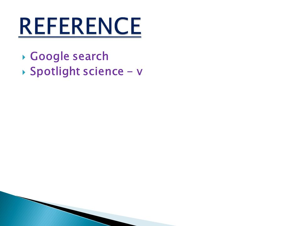  Google search  Spotlight science - v