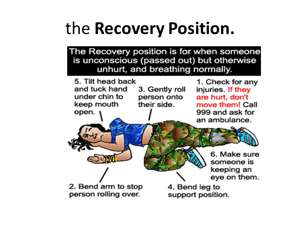 the Recovery Position.