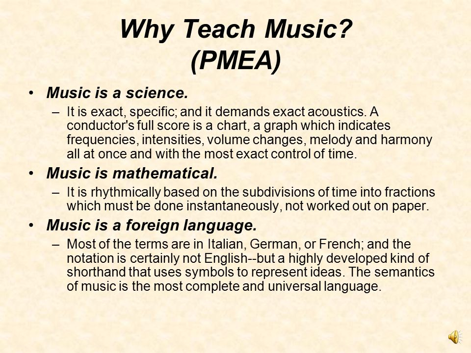 Active vs. Passive Learning Involvement in music represents active vs. passive learning. vs.