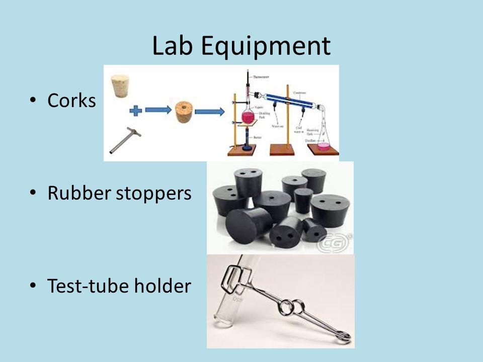 Lab Equipment Corks Rubber stoppers Test-tube holder