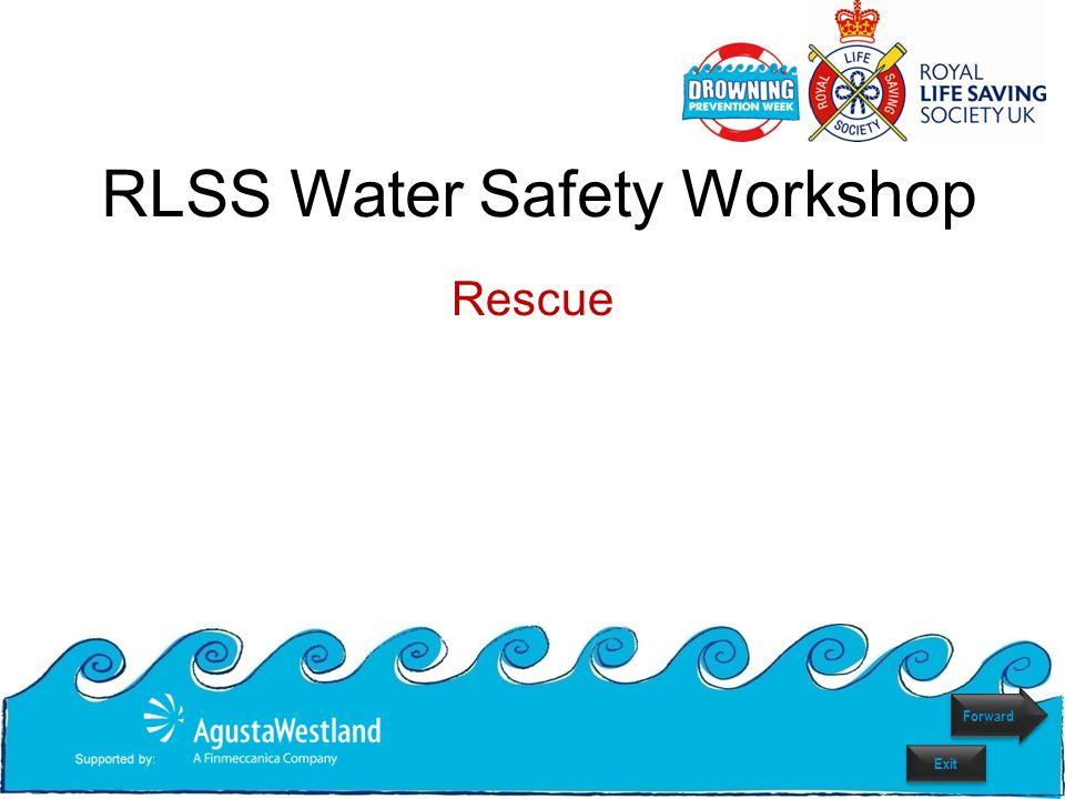 Rescue RLSS Water Safety Workshop Forward Exit