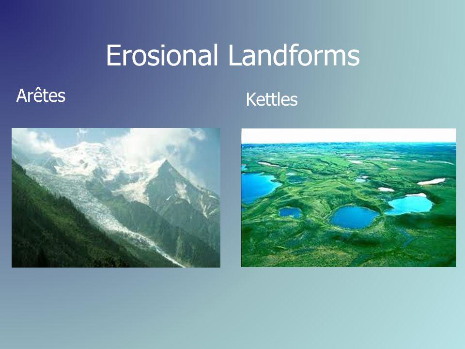 Erosional Landforms Arêtes Kettles