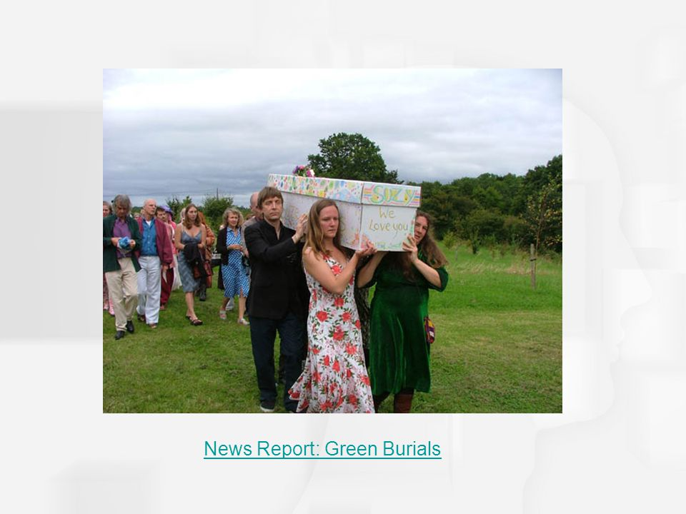 News Report: Green Burials