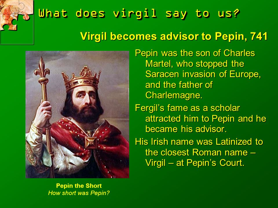 What does virgil say to us.