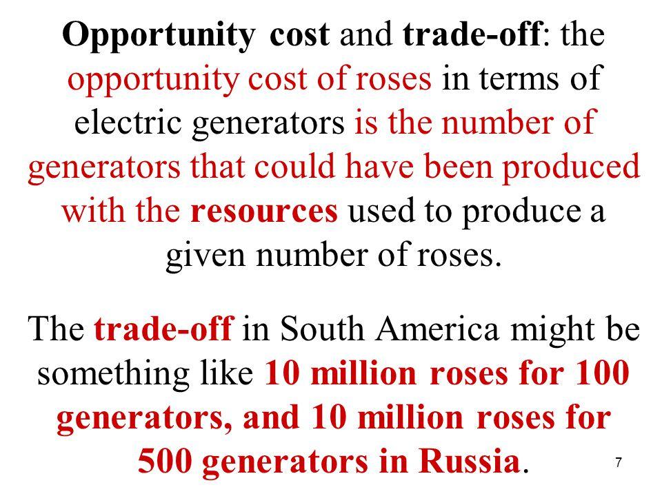 8 Roses, millions Electric Generators, units Russia10- South America10- Maximum20- National Production