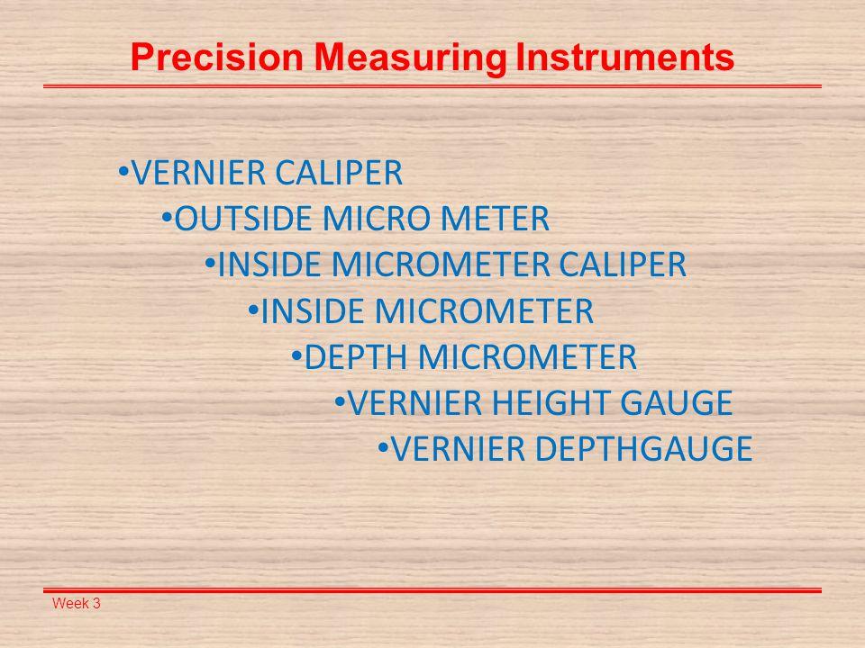 Week 3 Angular Measurement Instruments Combination Set