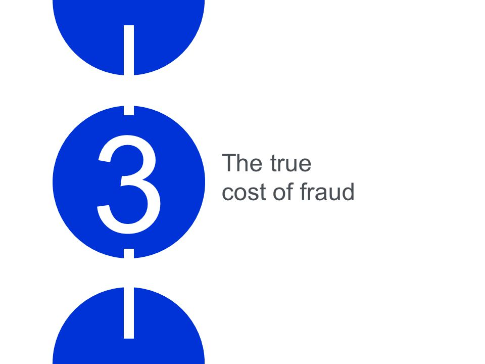 The true cost of fraud 3