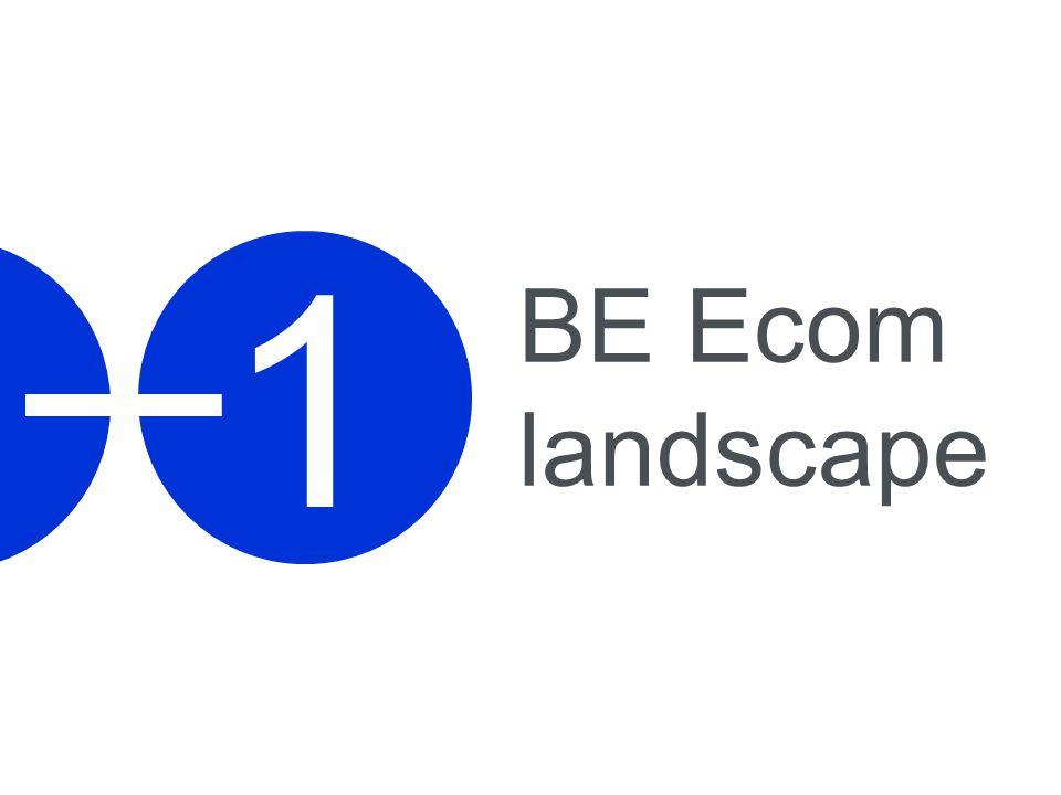 1 BE Ecom landscape