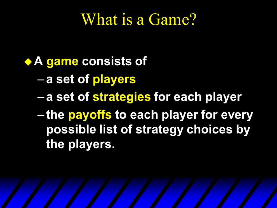 Mixed Strategies  Similarly, Player B selects a probability distribution (  L,1-  L ), meaning that with probability  L Player B will play Left and with probability 1-  L will play Right.