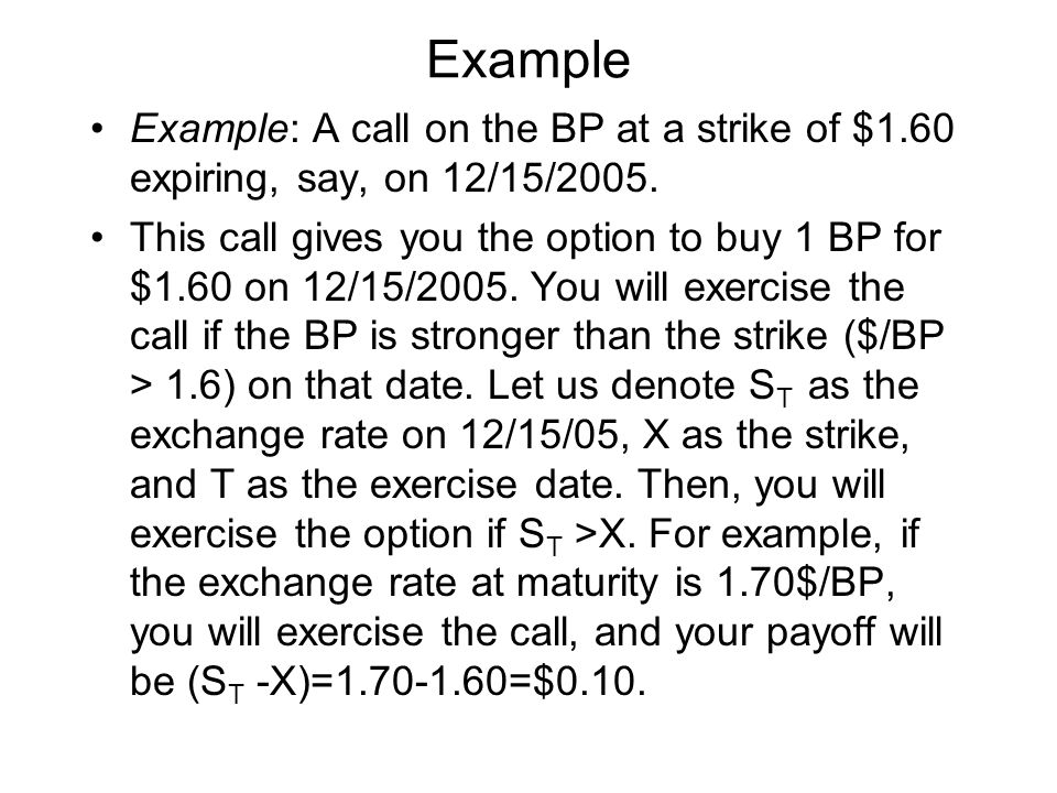 An Application of Arbitrage Pricing: Put Call Parity (1/5) Let us figure out today's (t=0) price of a portfolio of 1 long call and 1 short put ( C - P) with the same strike (X) and maturity (T).