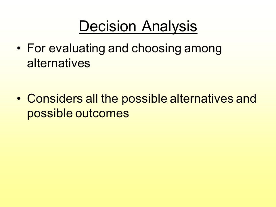 Decision Tree Example for Mark