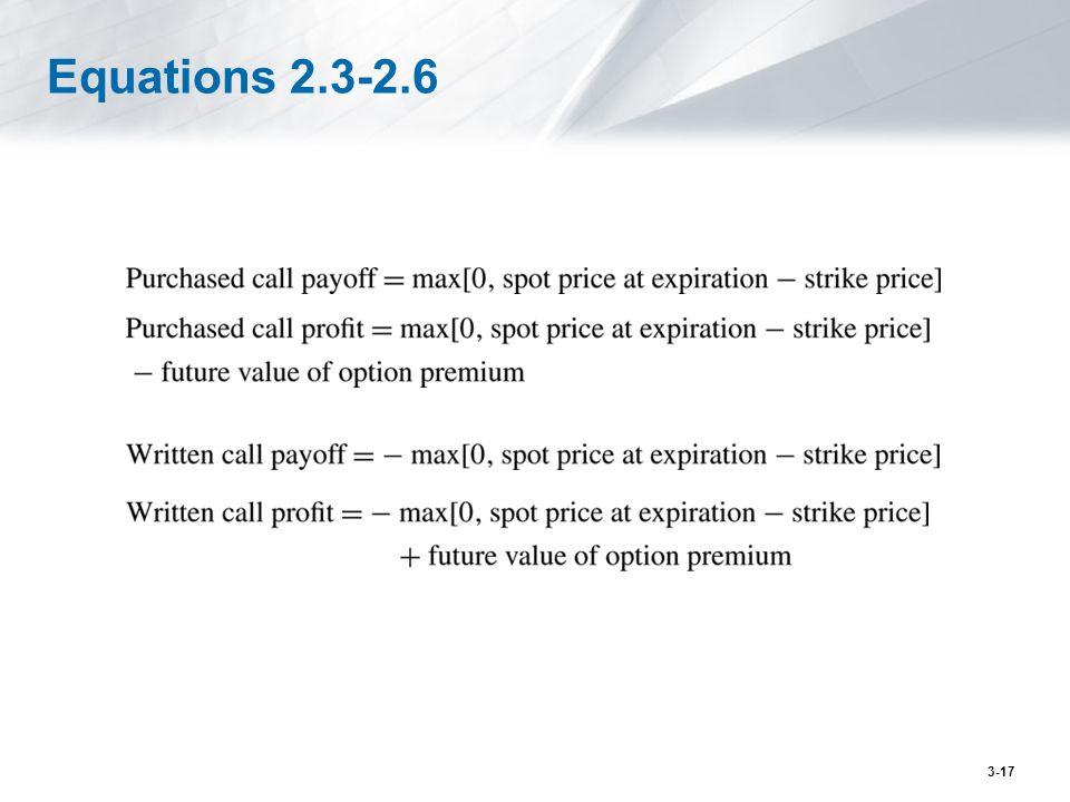 Equations 2.3-2.6 3-17