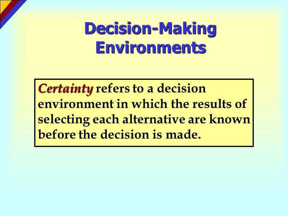 Decision-Tree Analysis (Figure 17-3) Don't sign Sign Contract Unfavorable Review Favorable Review Hardcover Paperback Decision Event Decision