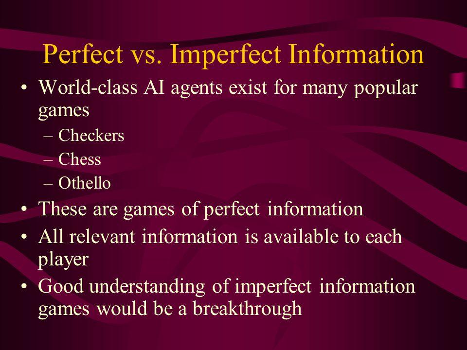 Perfect vs.