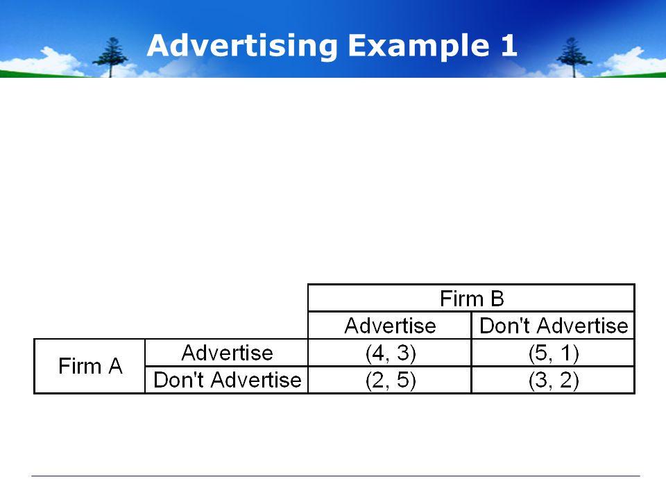 Advertising Example 1