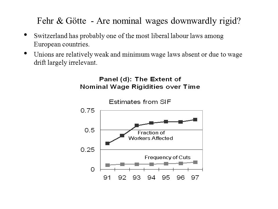 Fehr & Götte - Are nominal wages downwardly rigid.