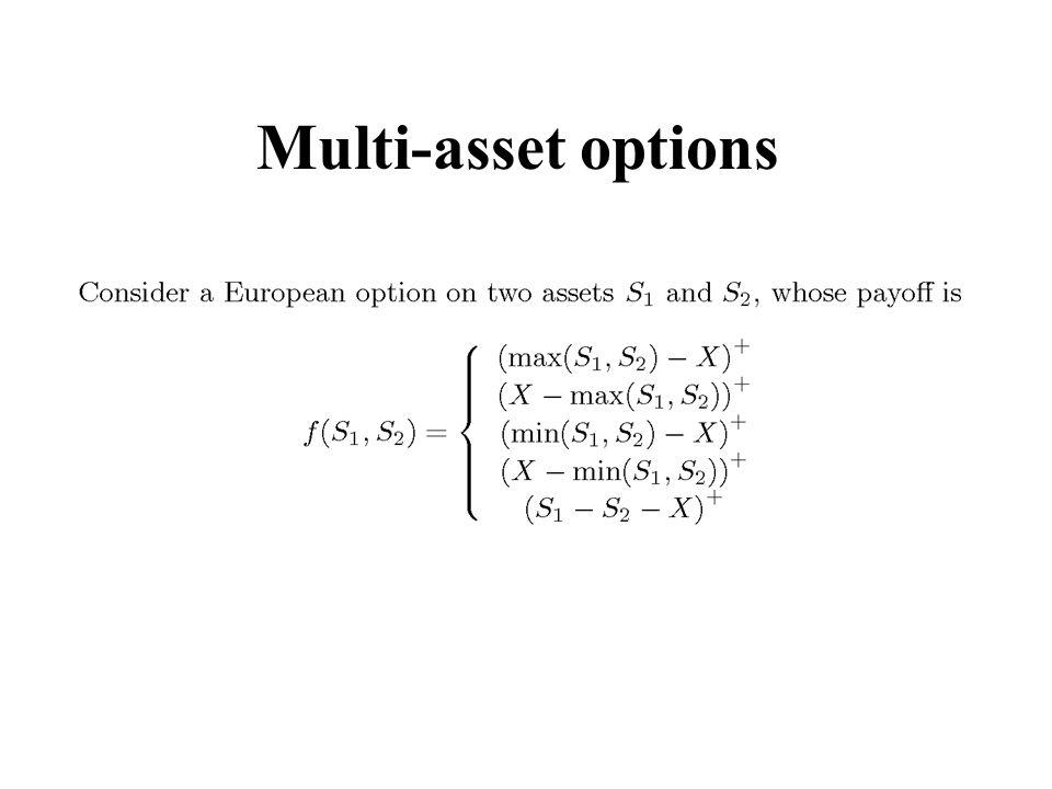 Multi-asset options