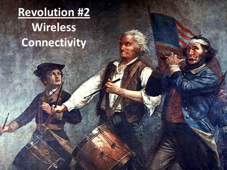 11 Revolution #2 Wireless Connectivity