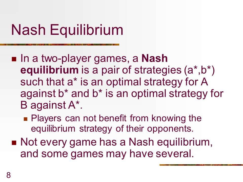 19 TABLE 6-2: Solving for Nash Equilibrium in Prisoner's Dilemma Using the Underlining Method Step 5