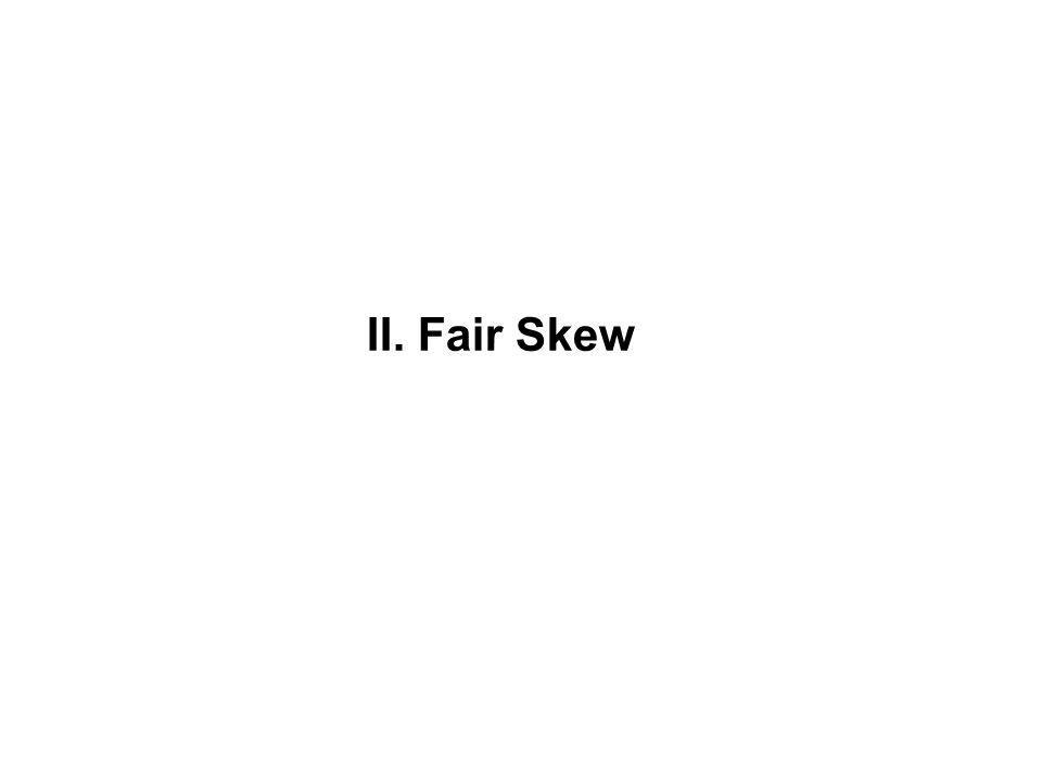 II. Fair Skew