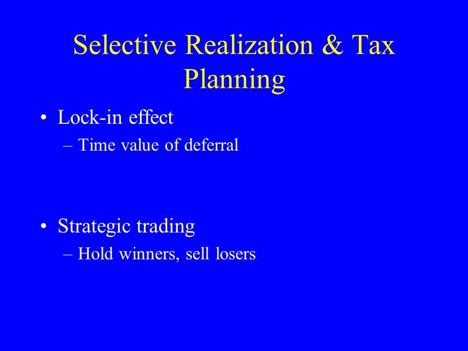 Tax Rules as Inputs Portfolio design (or selection) –Tax arbitrage –Clienteles Security design –Same issues as portfolio design –Add new securities