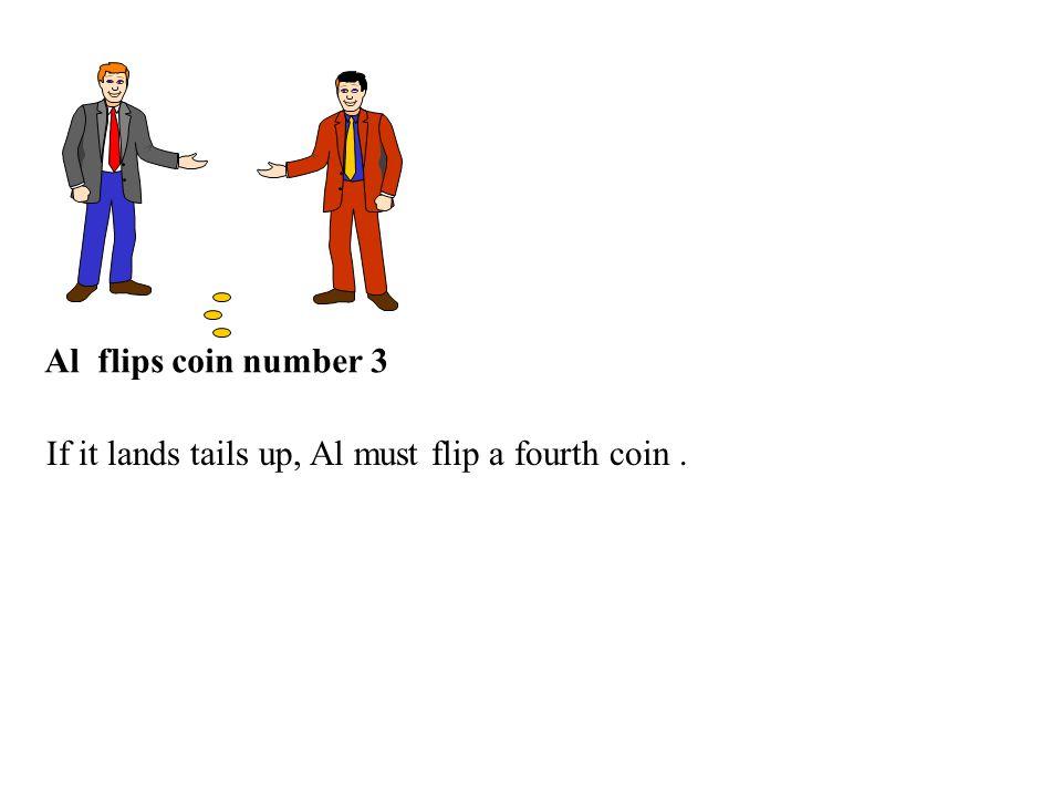 Al flips coin number 3