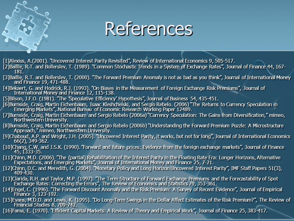 References [1]Alexius, A.(2001).