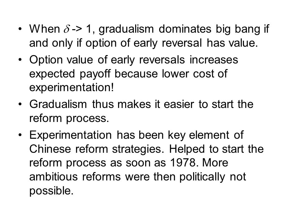 Complementarities and reform momentum.