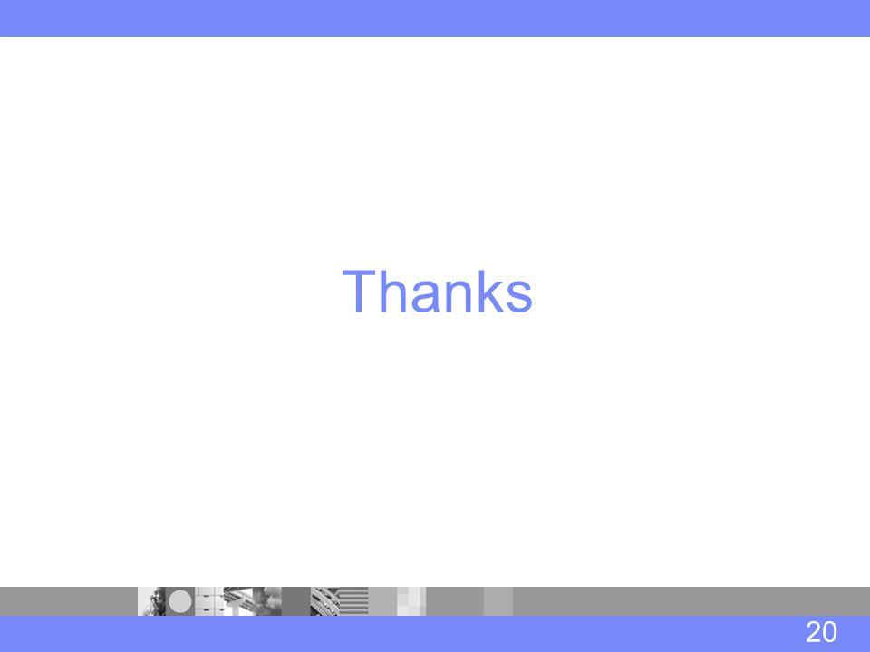 20 Thanks