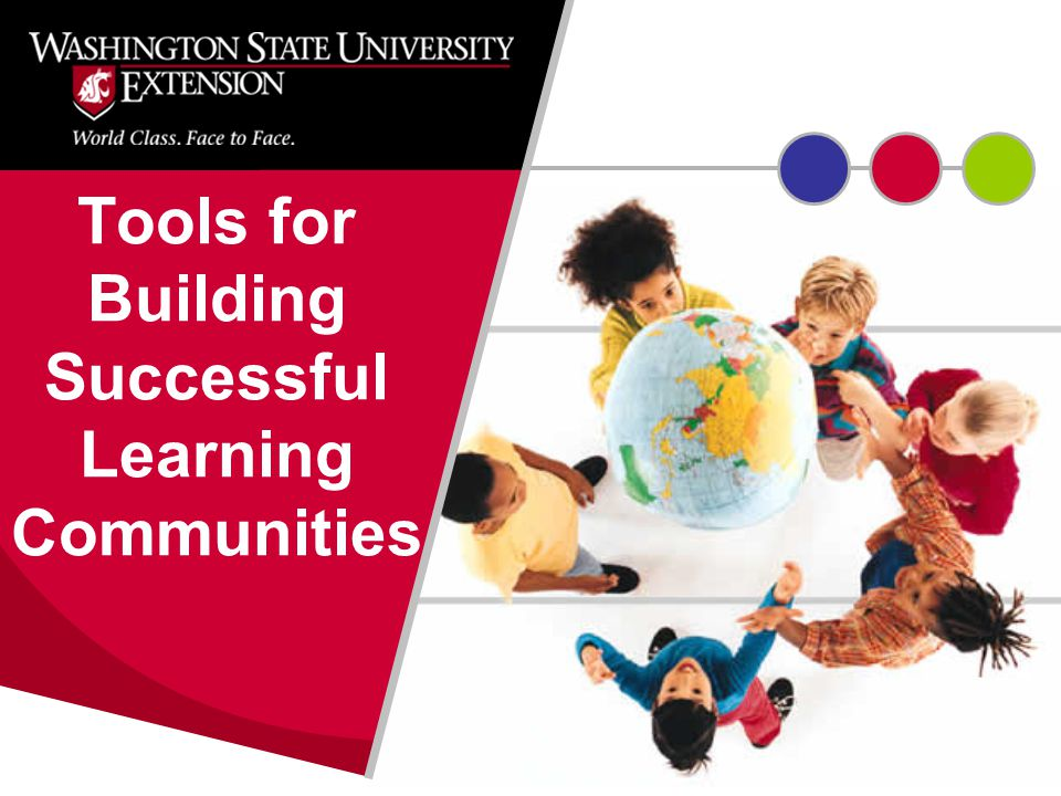 Tools for Building Successful Learning Communities