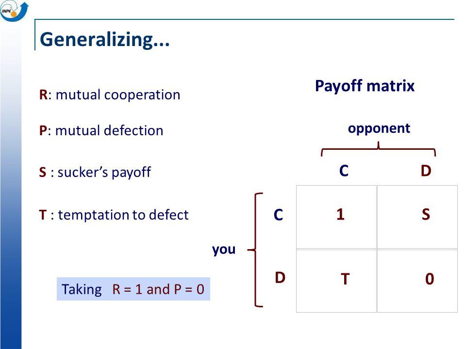 Generalizing...