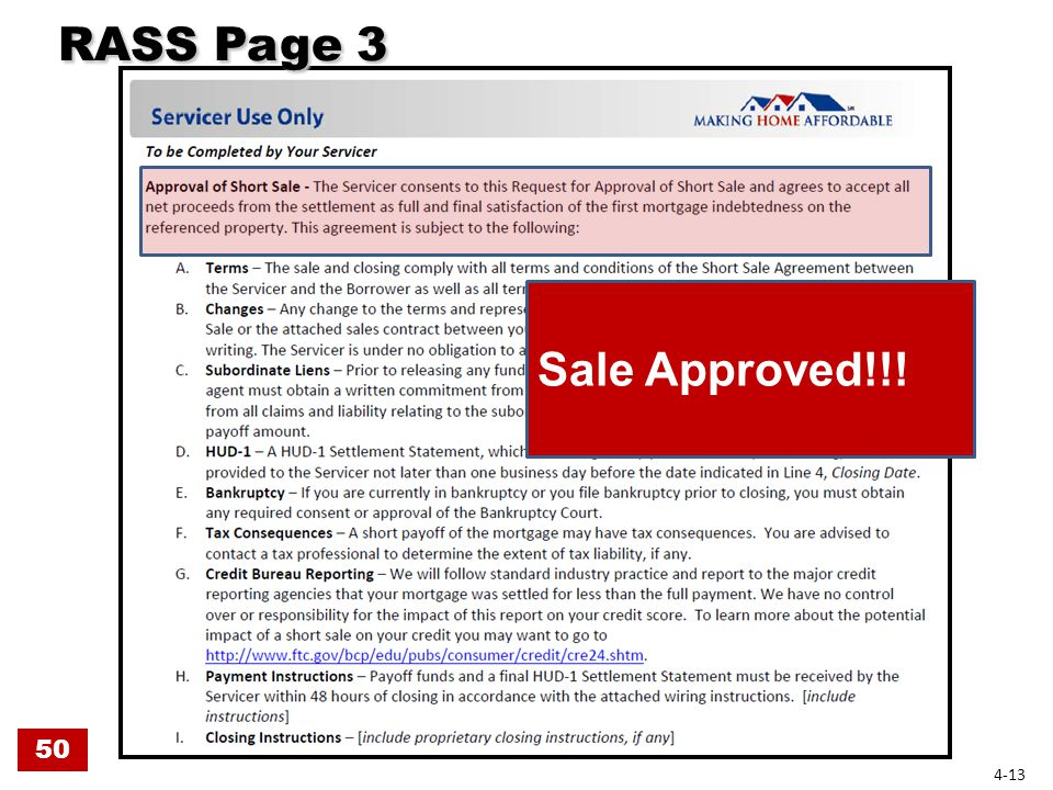 RASS Page 3 RASS Page 3 Sale Approved!!! 50 4-13