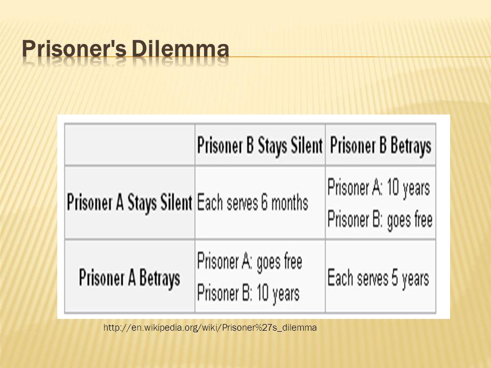 http://en.wikipedia.org/wiki/Prisoner%27s_dilemma